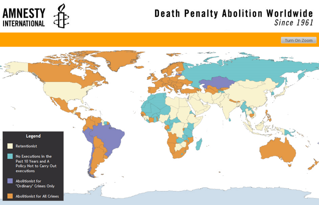The Death Penalty: An International Perspective
