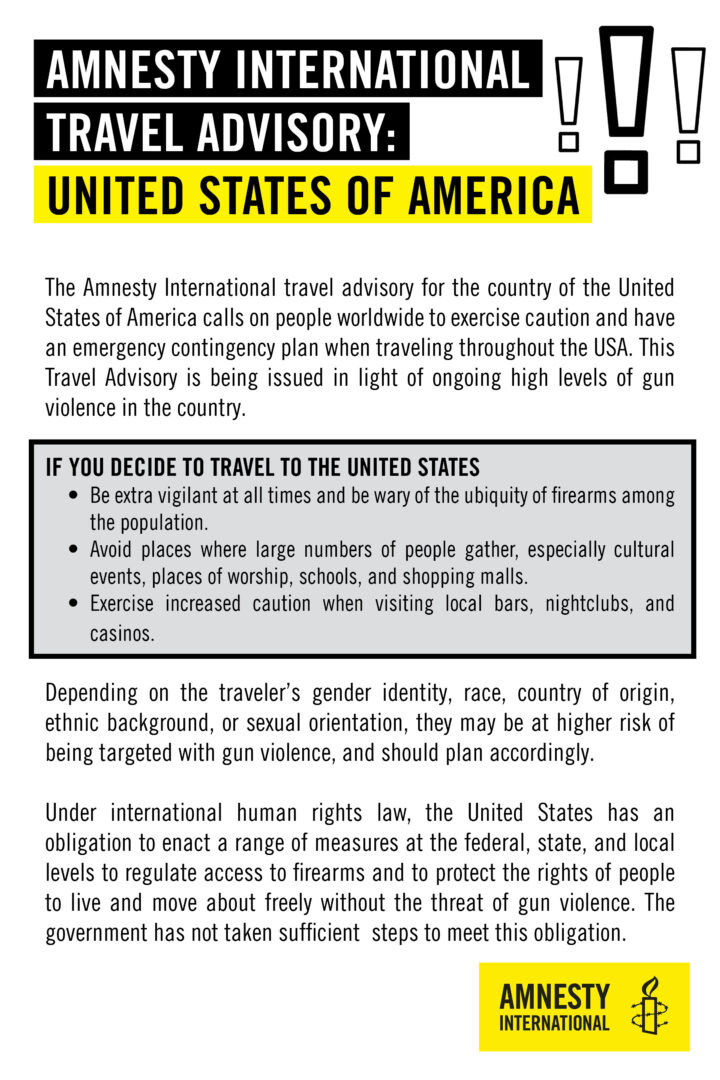 Amnesty on the USA