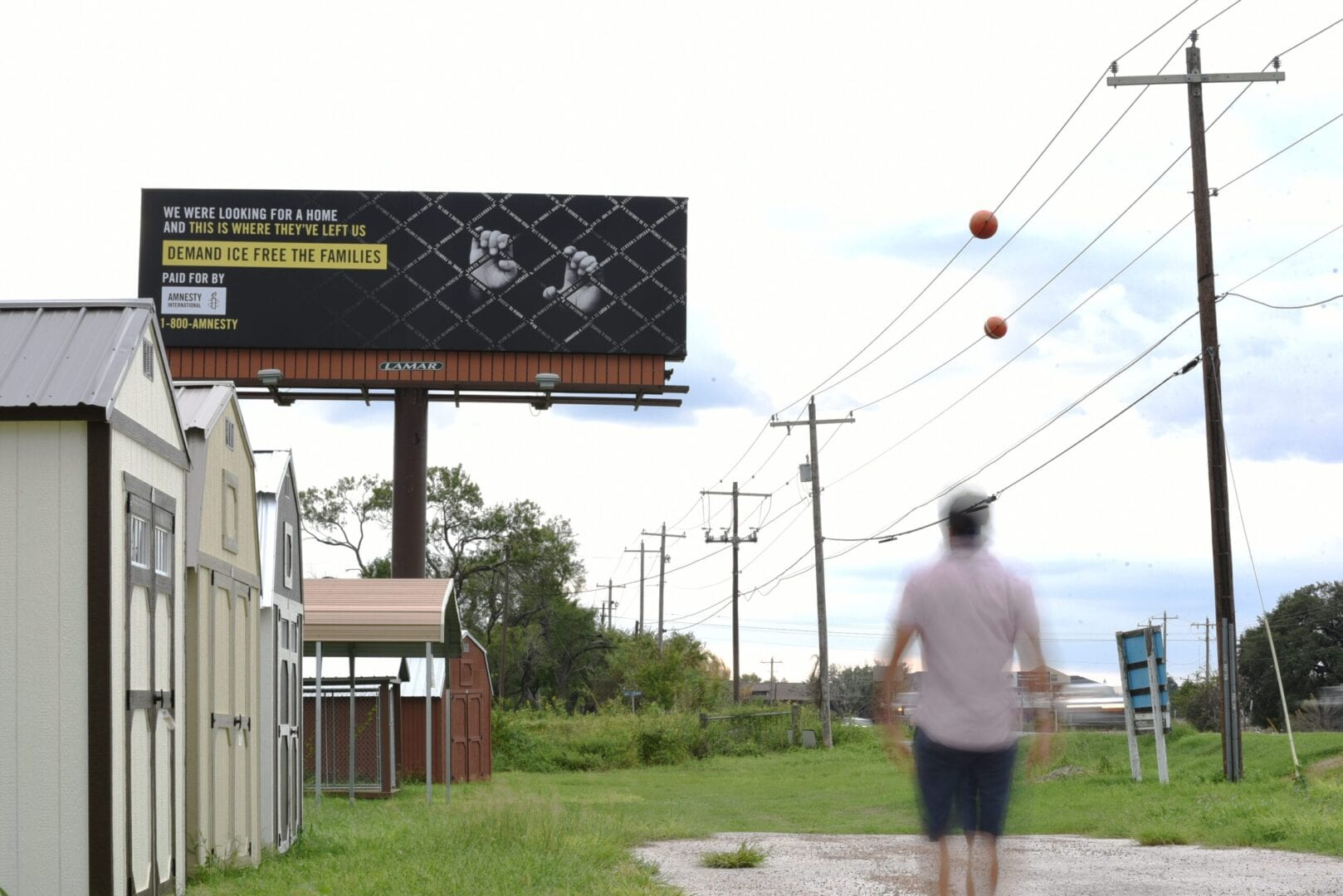 New Billboards Call on ICE to Stop Detaining Families and Children
